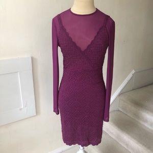 🌵Free People Jeanne Twofer Bodycon Dress NWOT